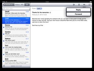 MasterDetail View iPad