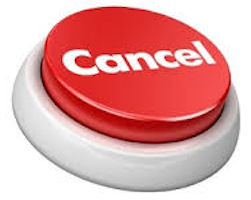 Cancel button
