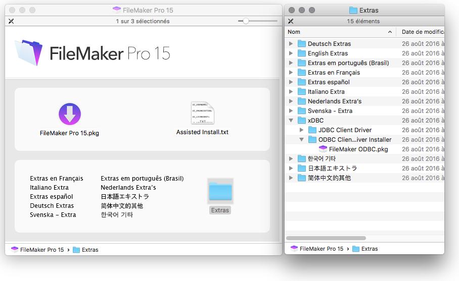 FileMaker ODBC driver
