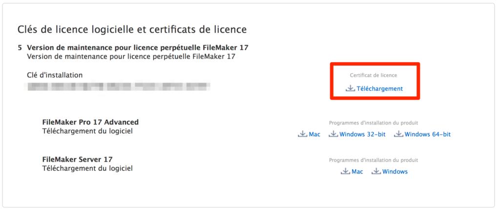 téléchargment Certificat De Licence