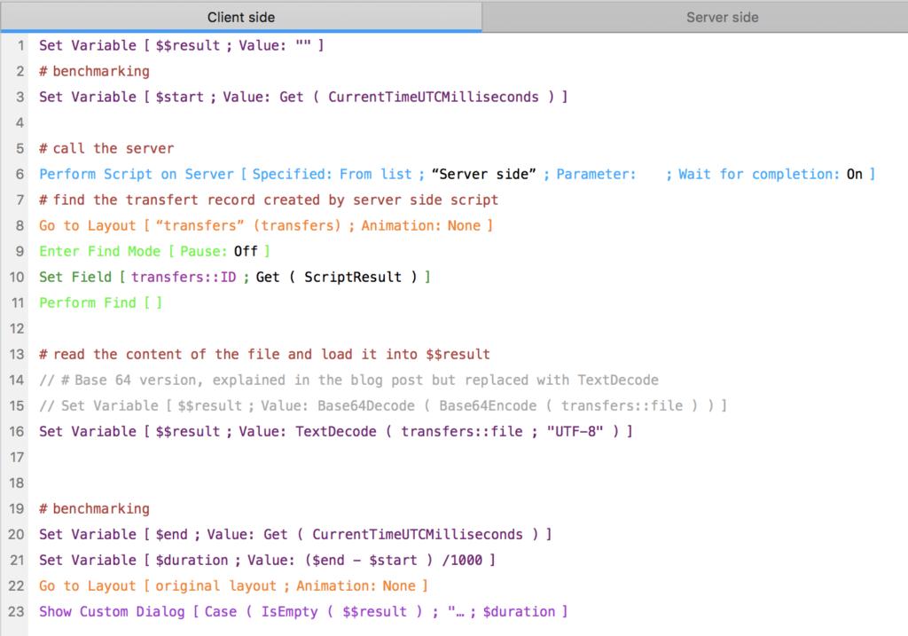client side script