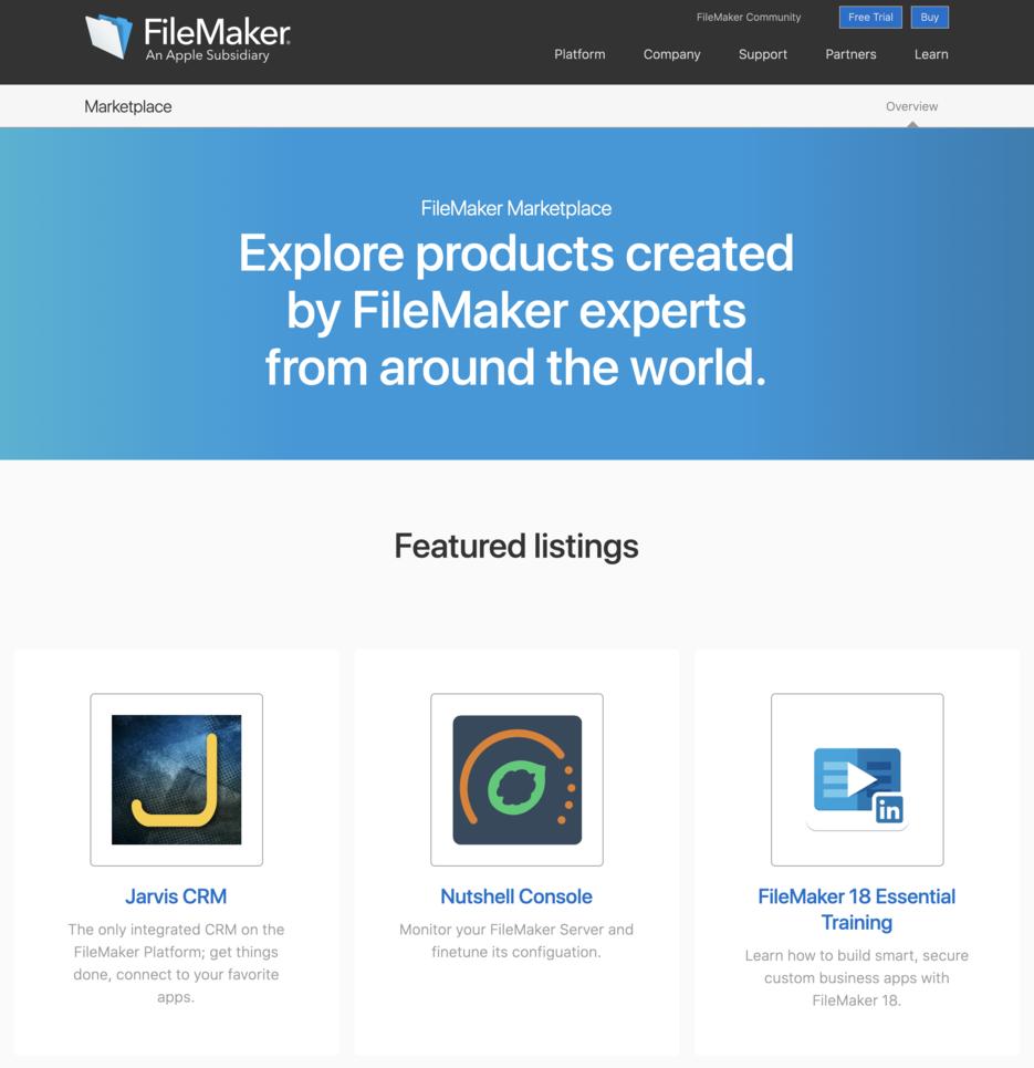 Marketplace launch