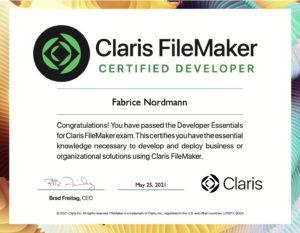 FileMaker Certification 2020